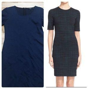 Theory Rijik n Hornell Short Sleeve Sheath Dress 0